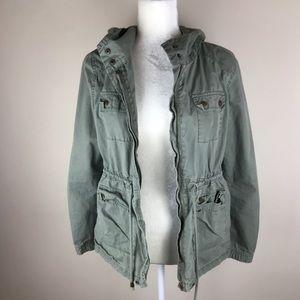 Life in Progress Utility Army Jacket